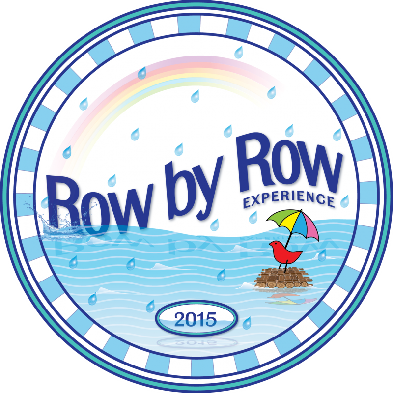 Row by row circular logo